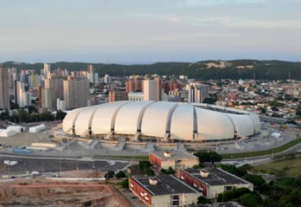 L'Estadio das Dunas di Natal (INFOPHOTO)