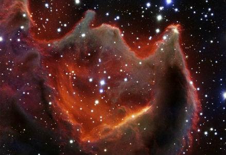 La nebulosa scoperta dagli scienziati