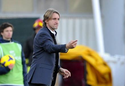 Davide Nicola, 42 anni, allenatore del Bari (INFOPHOTO)