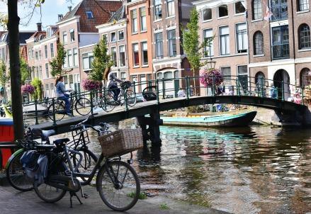 Leiden, in Olanda (Infophoto)