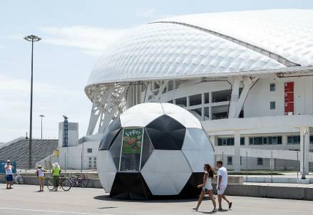 Lo stadio Olimpico di Sochi (INFOPHOTO)