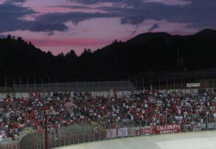 Lo stadio Franco Ossola di Varese (dall'account Twitter @OffASVarese1910)