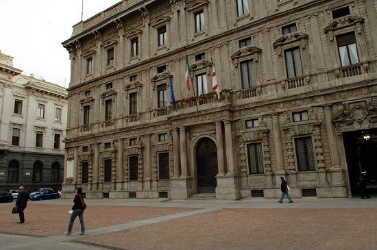 Palazzo Marino a Milano (Infophoto)