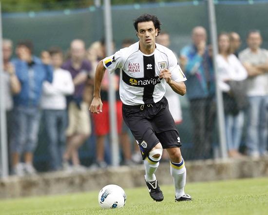 Raffaele Palladino, attaccante del Parma (Infophoto)