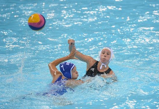 Oggi è il giorno di Italia-Russia di pallanuoto femminile (Infophoto)