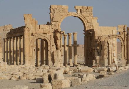 I templi di Palmira (Infophoto)