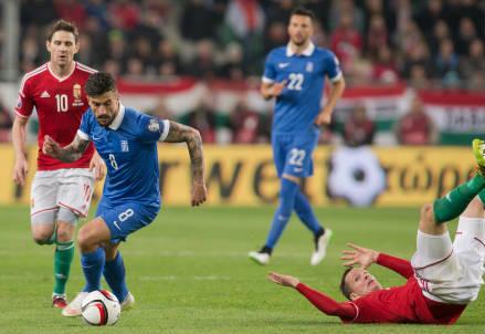 Panagiotis Kone, 28 anni, centrocampista greco (INFOPHOTO)