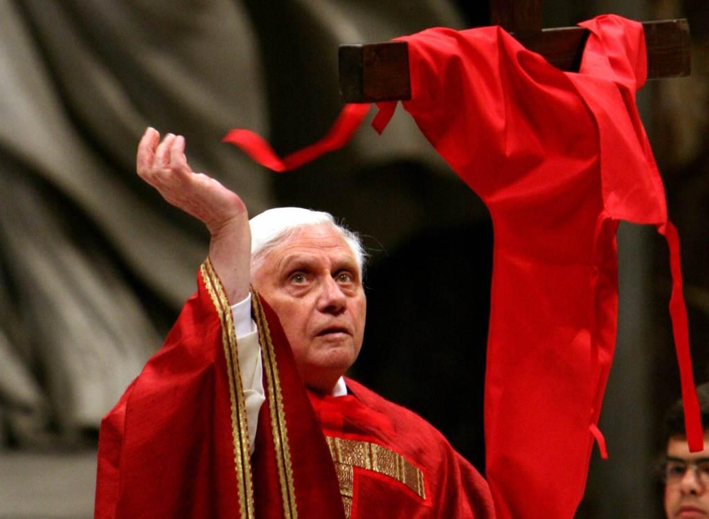Papa Benedetto XVI (InfoPhoto)