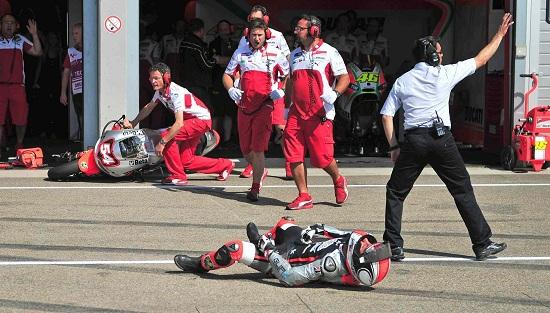 L'incidente tra Pasini e il meccanico - 3