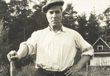 Un'immagine di Boris Pasternak (immagine d'archivio)