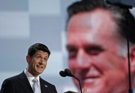 Ryan and Romney   (Infophoto)