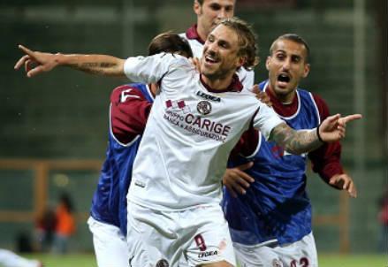 Paulinho, 27 anni, attaccante brasiliano del Livorno (INFOPHOTO)