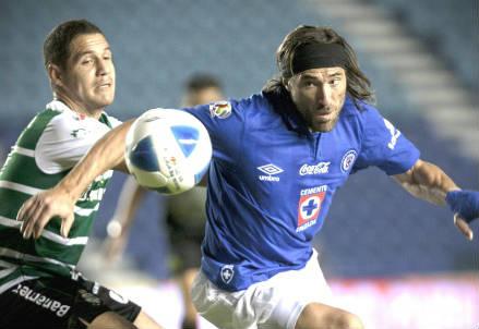 Mariano Pavone, 32 anni, attaccante argentino del Cruz Azul (INFOPHOTO)