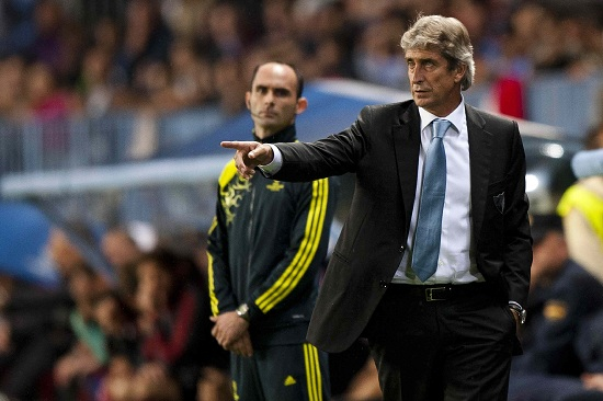 Manuel Pellegrini, allenatore City (Infophoto)