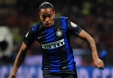 Alvaro Pereira, 27 anni, terzino uruguaiano dell'Inter (INFOPHOTO)