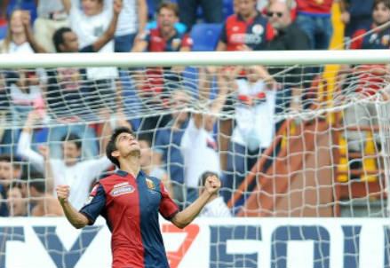 DIego Perotti, 26 anni, argentino: 4 gol in questo campionato (INFOPHOTO)