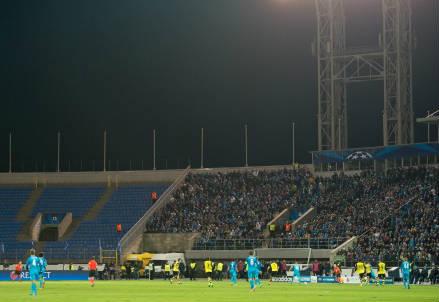 Il Petrovski Stadion di San Pietroburgo, casa dello Zenit (INFOPHOTO)