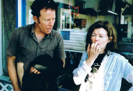 Sylvie Simmons con Tom Waits
