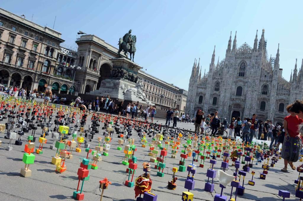 Piazza del Duomo a Milano (Foto: Infophoto)