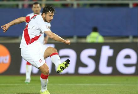 Claudio Pizarro, 36 anni, 20 gol con la Nazionale maggiore peruviana (INFOPHOTO)