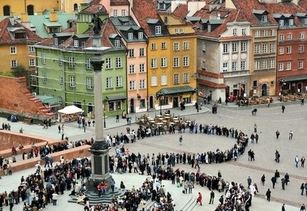 Scorcio di Varsavia (Infophoto)