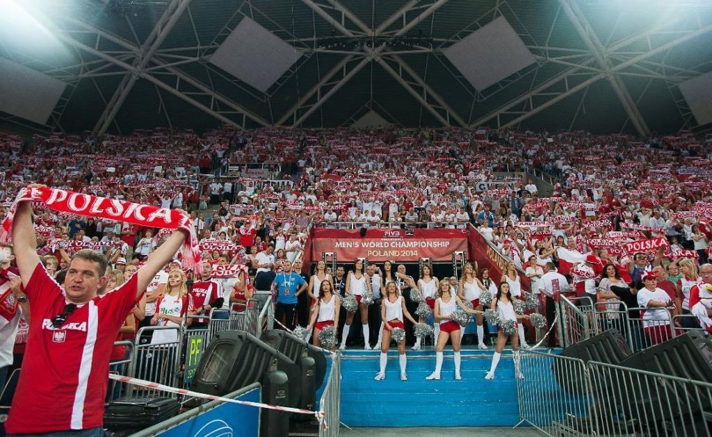Il pubblico polacco (da Facebook Fivb)