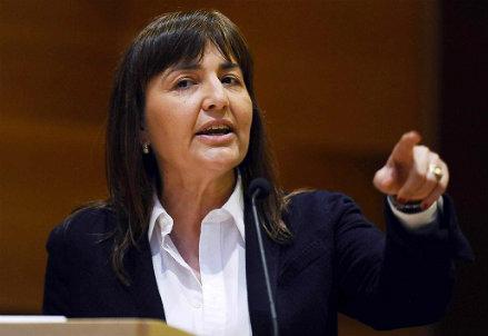 Renata Polverini (Infophoto)