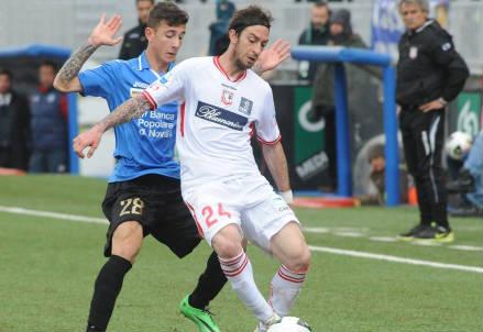 Filippo Porcari, 30 anni, centrocampista del Carpi (INFOPHOTO)