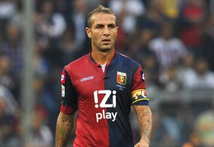 Daniele Portanova, 34 anni, difensore del Genoa (INFOPHOTO)