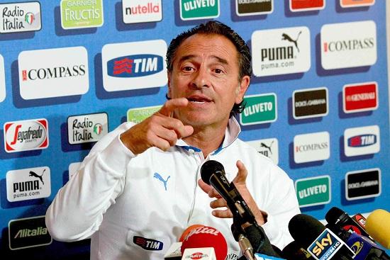Cesare Prandelli (Foto: Infophoto)