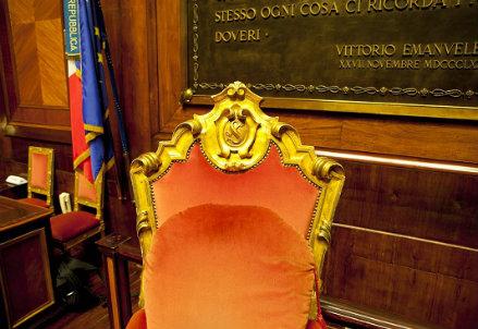 Senato, Palazzo Madama (Infophoto)