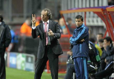 Il belga Michel Preud'homme, 56 anni, allenatore del Bugge (INFOPHOTO)