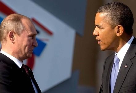 Vladimir Putin e Barack Obama (Foto InfoPhoto)