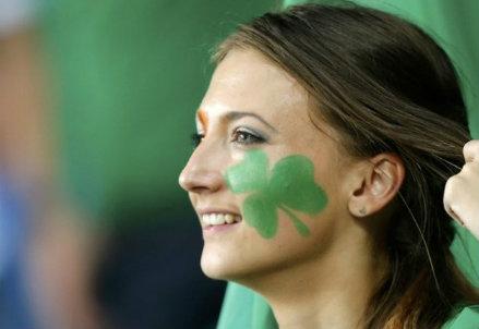 Una ragazza irlandese (Infophoto)