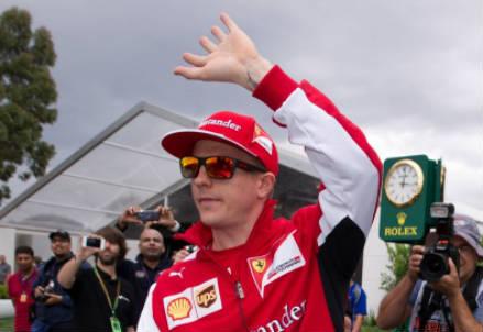 Kimi Raikkonen - Infophoto