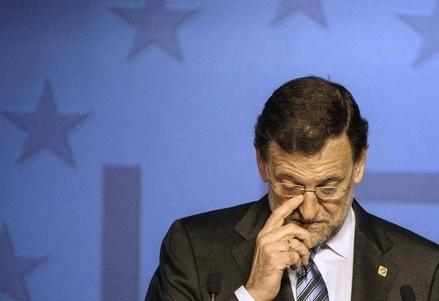 Il premier spagnolo Mariano Rajoy (Infophoto)