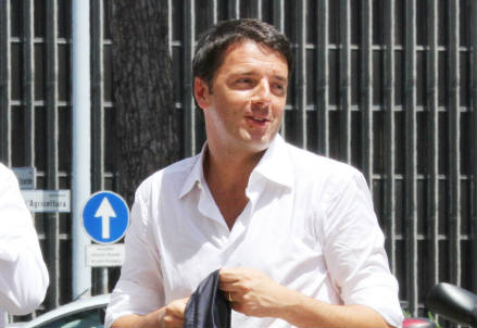 Matteo Renzi (InfoPhoto)