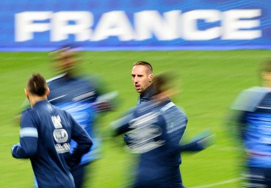 La Francia è al comando del gruppo I davanti alla Spagna (Infophoto)