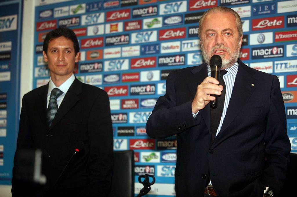Aurelio De Laurentiis, presidente Napoli (Foto Infophoto)