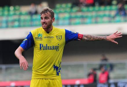 Luca Rigoni, 29 anni, centrocampista del Chievo (INFOPHOTO)