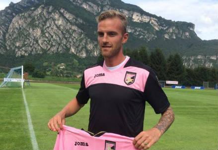 Luca Rigoni, 29 anni (dall'account Twitter ufficiale @palermocalcioit)