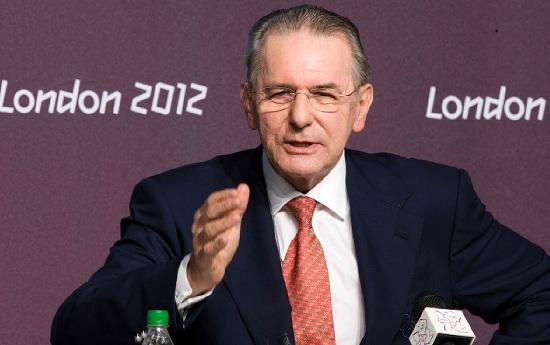 Jacques Rogge, il presidente del Cio (Infophoto)