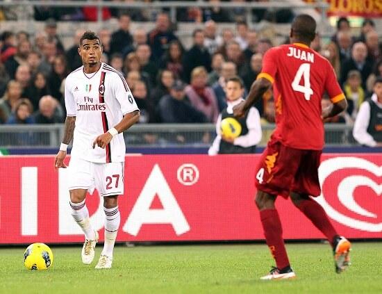 Roma-Milan è il big-match di questa giornata (Infophoto)