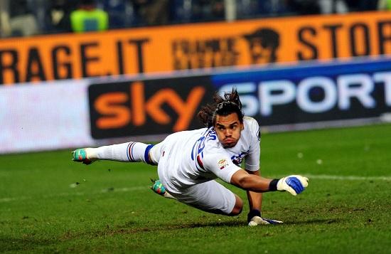 Romero lascia la Samp per il Monaco (INFOPHOTO)