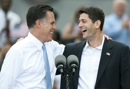 Mitt Romney e Paul Ryan