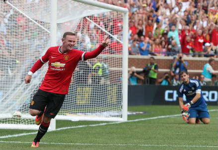 Wayne Rooney, 28 anni (dall'account Twitter ufficiale @ManUtd)