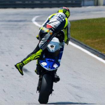 Valentino Rossi a Sepang