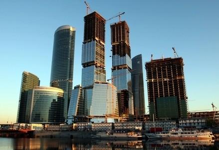 La nuova city di Mosca (Infophoto)