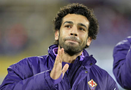 Salah, attaccante Fiorentina (Infophoto)