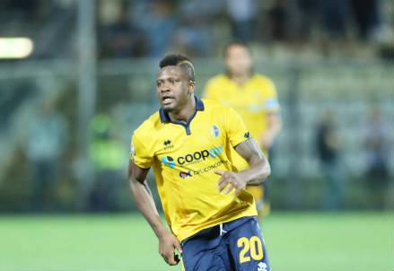 Amidu Salifu, 22 anni, centrocampista ghanese (dalla pagina Facebook ufficiale Modena Football Club 1912)